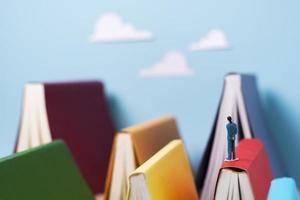 a imaginação dos livros ainda vida foto