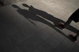 sombras diurnas abstratas do ar livre foto