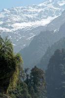 grande paisagem do Himalaia foto