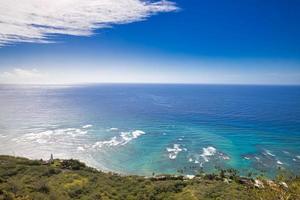 a vista de Diamond Head havaí foto