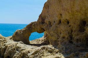 litoral algarve portugal foto