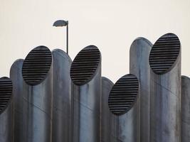 tubos de ventilação foto