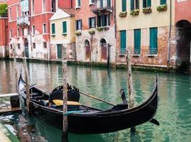 cidade de veneza na lagoa do mar adriático foto