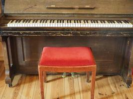 piano vintage, instrumento musical foto