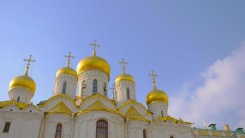 arquitetura igreja no Kremlin, Moscou, Rússia foto