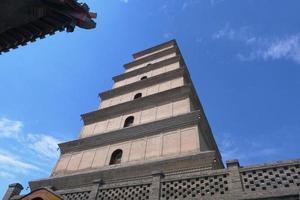 arquitetura budista do pagode dayan, china xian foto