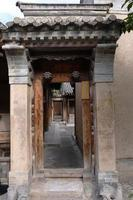 museu de artes folclóricas de tianshui hu shi folk house, gansu china foto