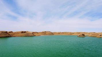 dachaidan wusute water yadan parque geológico qinghai china foto