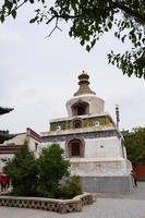 mosteiro kumbum, templo ta'er na china de xining. foto