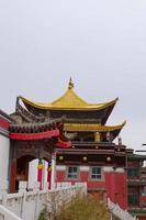 mosteiro kumbum, templo ta'er xining qinghai china. foto