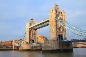 ponte da torre em londres reino unido foto