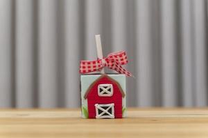 pirulito de chocolate quadrado decorado com tema de fazenda. foto