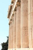 templo do zeus olímpico, atenas grécia foto