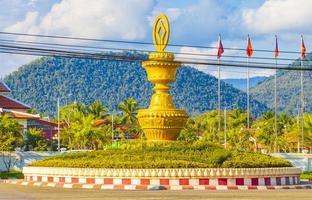 rotunda em Luang Prabang, Laos foto