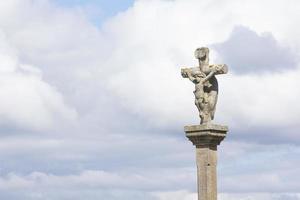 figuras religiosas de pedras foto