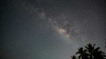 céu da via láctea foto