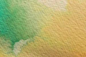 aquarela abstrata fundo laranja e verde foto