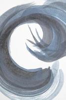 projeto de elementos em aquarela close up foto