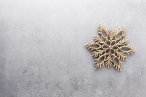 fundo de decoração de natal. disposição plana, vista superior. foto