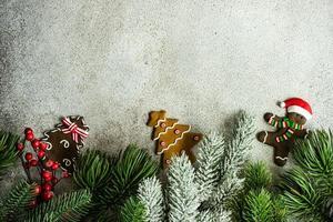 conceito de cartão de natal foto