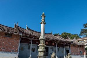 a aparência geral dos templos budistas tradicionais chineses foto