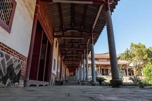 estrutura local de templos budistas tradicionais chineses foto