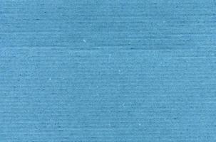 fundo de textura de papelão azul foto