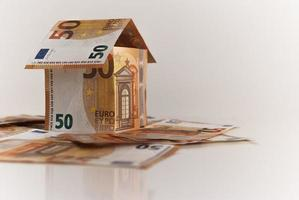 dinheiro na europa negócios e investimentos financeiros foto