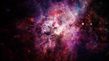 um canto distante do espaço foto