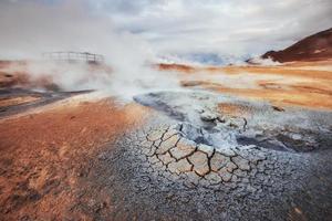 islândia, o país dos vulcões, fontes termais, gelo, cachoeiras, clima não dito, fumaça, geleiras, rios fortes, bela natureza selvagem colorida, lagoas, animais incríveis, aurora, lava foto