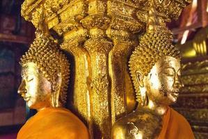Buda dourado, Tailândia foto