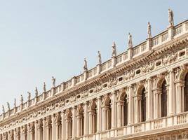 veneza, itália - perspectiva das colunas foto