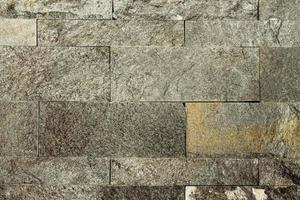 parede de azulejos de mármore preto foto