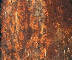 fundo ferrugem texturizado de aço foto