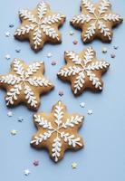 biscoitos de gengibre de natal foto