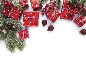 Natal, inverno, conceito de ano novo. foto