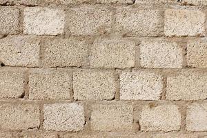 textura de parede de blocos de concreto foto
