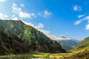 bela paisagem vista das montanhas foto