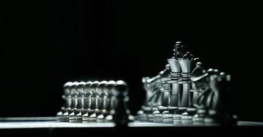 jogo de tabuleiro de xadrez foto
