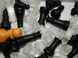 jogos de tabuleiro, xadrez e damas, figuras foto