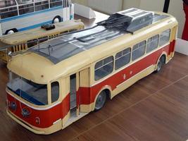 modelos de trólebus, modelos de transporte elétrico urbano foto