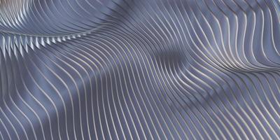 linha paralela onda ondas de fundo de plástico balançando folha de borracha ilustração 3D foto
