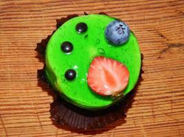 confeitaria, doces artesanais, bolos e eclairs foto
