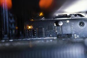 fundo do componente de hardware foto