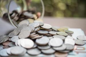 economizar dinheiro para o conceito de investimento foto