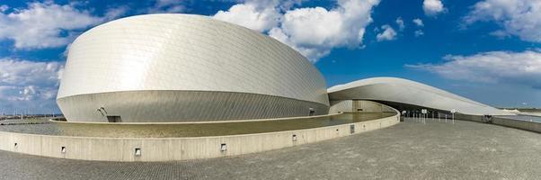 copenhagen, dinamarca, 14 de junho de 2018 - detalhe do aquário nacional dinamarca em copenhagen. é o maior e mais moderno aquário do norte da europa, inaugurado em 2013. foto