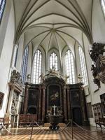 berlim 2019- igreja de st. Catedral de Maria dentro das abóbadas foto