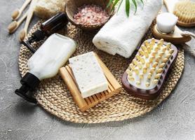zero desperdício de produtos cosméticos naturais foto