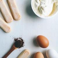 ingrediente tiramisu foto