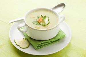 sopa de vegetais foto